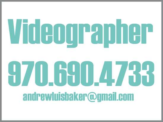 videographer tag